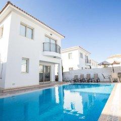 Отель Palm Protaras Кипр, Протарас - отзывы, цены и фото номеров - забронировать отель Palm Protaras онлайн бассейн фото 3
