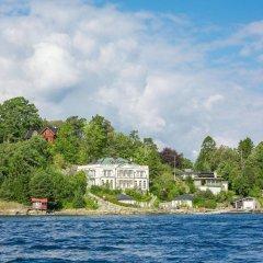 Отель Villa Charlotte Берген приотельная территория фото 2