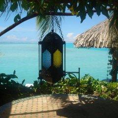 Отель Hôtel Fenua Mata'i'oa пляж