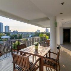 Отель Lily Residence Бангкок балкон