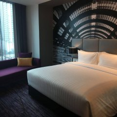 Отель Mercure Bangkok Makkasan комната для гостей фото 3
