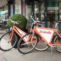 Отель Scandic Karl Johan спортивное сооружение