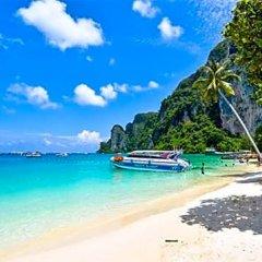 Отель Phaithong Sotel Resort пляж фото 2