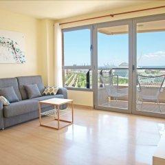 Отель ApartUP Blue Opera View Испания, Валенсия - отзывы, цены и фото номеров - забронировать отель ApartUP Blue Opera View онлайн комната для гостей фото 4