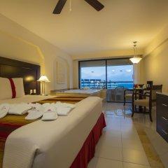 Отель Crown Paradise Club Cancun - Todo Incluido комната для гостей фото 4