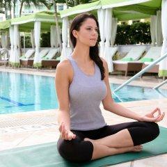 Отель Conrad Miami фитнесс-зал фото 4