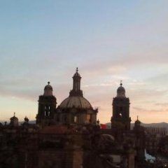 Hotel Catedral Мехико балкон