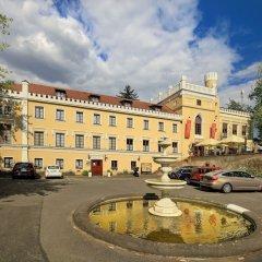 Отель Chateau St. Havel - wellness Hotel Чехия, Прага - отзывы, цены и фото номеров - забронировать отель Chateau St. Havel - wellness Hotel онлайн парковка