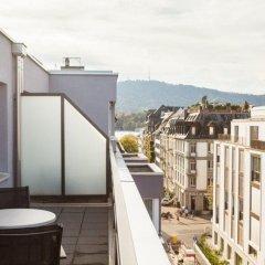 Отель Emma House, All Suite Цюрих балкон