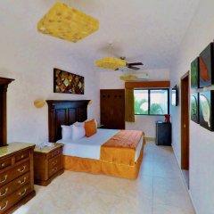 Отель Las Golondrinas Плая-дель-Кармен комната для гостей фото 4