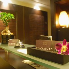Klick Hotel интерьер отеля