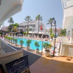 Club Atrium Hotel Мармарис балкон