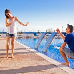 Hotel Club Sur Menorca Сан-Луис приотельная территория