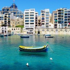 Отель Modern 2 Bedroom Apartment in St Julians Мальта, Сан Джулианс - отзывы, цены и фото номеров - забронировать отель Modern 2 Bedroom Apartment in St Julians онлайн фото 12