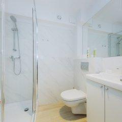 Отель ShortStayPoland Grottgera (B62) Польша, Варшава - отзывы, цены и фото номеров - забронировать отель ShortStayPoland Grottgera (B62) онлайн ванная