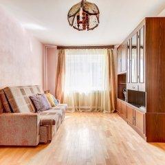 Отель Home4day 2bedroom flat by Aurora cruiser Санкт-Петербург комната для гостей
