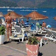 Le Blu Hotel пляж фото 2