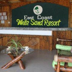 Отель East Coast White Sand Resort Филиппины, Анда - отзывы, цены и фото номеров - забронировать отель East Coast White Sand Resort онлайн интерьер отеля фото 2