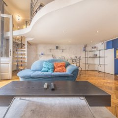 Апартаменты Cibere Apartment Будапешт комната для гостей