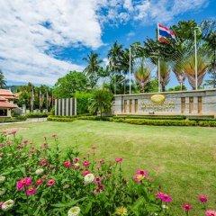 Отель Duangjitt Resort, Phuket Пхукет спортивное сооружение