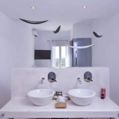 Art Hotel Santorini ванная фото 2