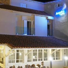 Angelos Hotel Ситония вид на фасад