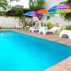 Отель Ikaro Suites Cancun Мексика, Канкун - отзывы, цены и фото номеров - забронировать отель Ikaro Suites Cancun онлайн бассейн