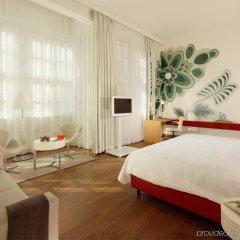Отель Hyperion Dresden Am Schloss Германия, Дрезден - 4 отзыва об отеле, цены и фото номеров - забронировать отель Hyperion Dresden Am Schloss онлайн комната для гостей