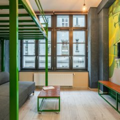 Отель RentPlanet - Apartamenty Graffiti Польша, Вроцлав - отзывы, цены и фото номеров - забронировать отель RentPlanet - Apartamenty Graffiti онлайн интерьер отеля