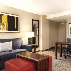Отель Homewood Suites by Hilton Washington DC Capitol-Navy Yard США, Вашингтон - отзывы, цены и фото номеров - забронировать отель Homewood Suites by Hilton Washington DC Capitol-Navy Yard онлайн комната для гостей фото 4