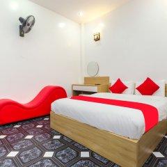 Отель OYO 889 Ha Vy Motel Ханой комната для гостей фото 5