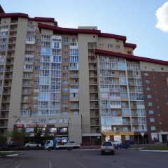 Апартаменты Apartment on Aviatorov 23 Красноярск вид на фасад