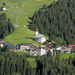 Отель Alpinresort Damüls спортивное сооружение