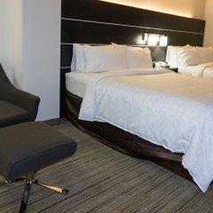 Отель Holiday Inn Express Columbus Downtown США, Колумбус - отзывы, цены и фото номеров - забронировать отель Holiday Inn Express Columbus Downtown онлайн комната для гостей