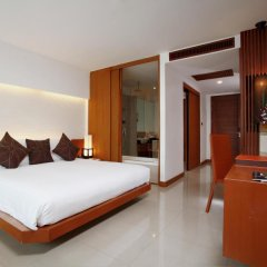 Отель La Flora Resort Patong 5* Улучшенный номер разные типы кроватей фото 5