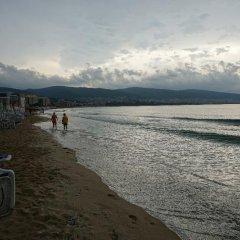 Отель Yassen Болгария, Солнечный берег - отзывы, цены и фото номеров - забронировать отель Yassen онлайн пляж фото 2