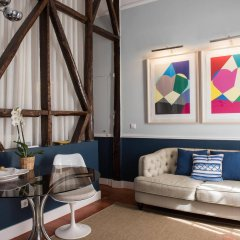 Отель Casa Amora Португалия, Лиссабон - отзывы, цены и фото номеров - забронировать отель Casa Amora онлайн комната для гостей фото 2