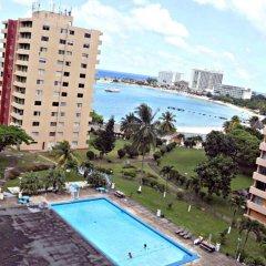 Отель Turtle Beach Towers Condominiums пляж
