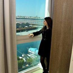 Отель Venice Hotel San Giuliano Италия, Местре - 2 отзыва об отеле, цены и фото номеров - забронировать отель Venice Hotel San Giuliano онлайн балкон
