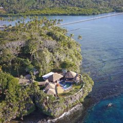 Отель Whole Private Island and Luxury Villa пляж