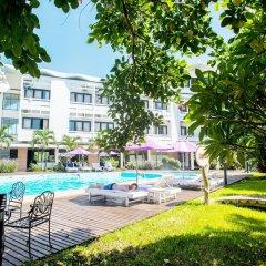 Отель Huong Giang Hotel Resort & Spa Вьетнам, Хюэ - 1 отзыв об отеле, цены и фото номеров - забронировать отель Huong Giang Hotel Resort & Spa онлайн бассейн фото 2