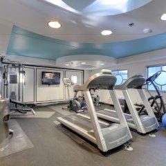 Отель El Cortez Hotel & Casino США, Лас-Вегас - 1 отзыв об отеле, цены и фото номеров - забронировать отель El Cortez Hotel & Casino онлайн фитнесс-зал