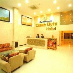 Отель Thanh Uyen Hotel Вьетнам, Хюэ - отзывы, цены и фото номеров - забронировать отель Thanh Uyen Hotel онлайн интерьер отеля фото 3
