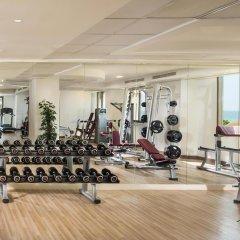 Отель The Ajman Palace фитнесс-зал