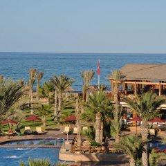 Отель Hasdrubal Thalassa & Spa Djerba Тунис, Мидун - 1 отзыв об отеле, цены и фото номеров - забронировать отель Hasdrubal Thalassa & Spa Djerba онлайн пляж