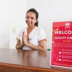 Отель ZEN Premium Chaloemprakiat Patong интерьер отеля