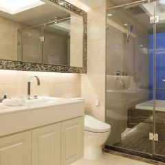 Отель Lagom Bright House Sea View Apartment Китай, Сямынь - отзывы, цены и фото номеров - забронировать отель Lagom Bright House Sea View Apartment онлайн ванная