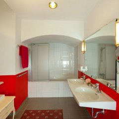 Отель Pertschy Palais Hotel Австрия, Вена - 5 отзывов об отеле, цены и фото номеров - забронировать отель Pertschy Palais Hotel онлайн ванная фото 2