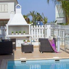 Отель Athina Villa 8 Кипр, Протарас - отзывы, цены и фото номеров - забронировать отель Athina Villa 8 онлайн бассейн фото 3