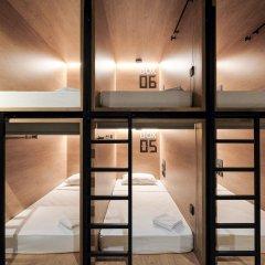 Капсульный отель inBox Санкт-Петербург комната для гостей